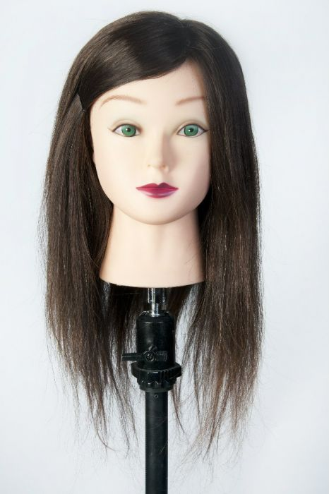 Головы маникены с волосами